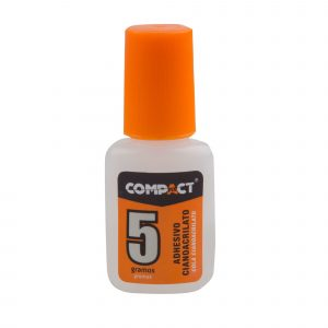 Adhesivo Cianoacr. Compact 5 Gr. Pincel