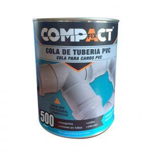 Cola Tuberia Pvc 500 Ml. Bote Compact