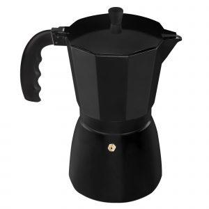 Cafetera Supreme Aluminio Negra 1t.