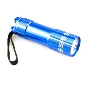 Linterna Led- 9 Aluminio Exp.12