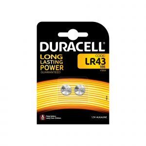 Pila Duracell Alcalina Lr43 Bl.2
